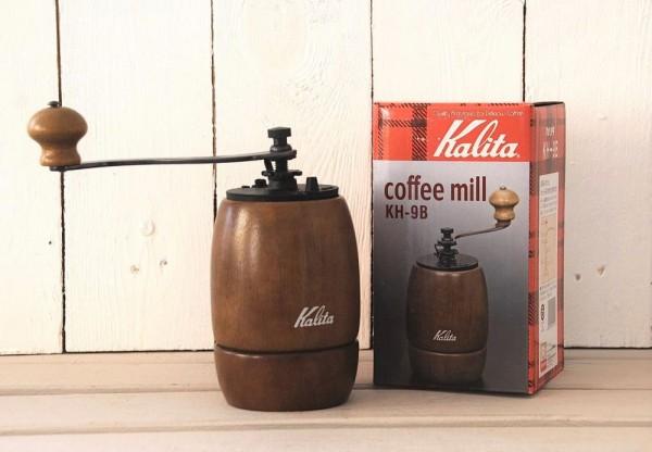 Hand-Kaffeemühle Kalita KH-9 im Retro-Design