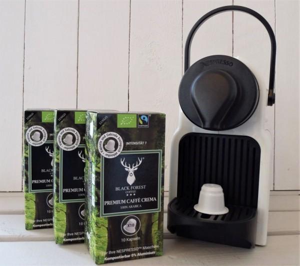BLACK FOREST Premium Caffè Crema - Kapseln