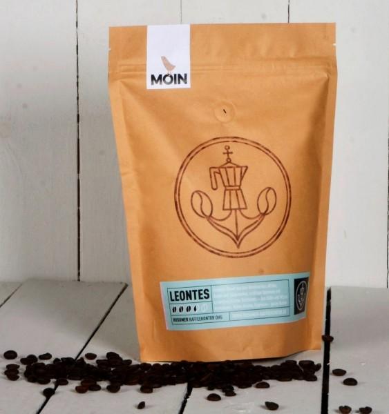 Leontes - kräftige Espresso-Mischung aus reinen Arabica-Kaffees