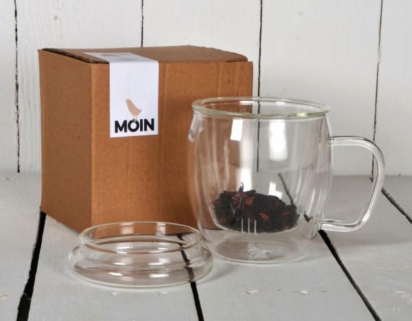 Tee-Becher aus Glas