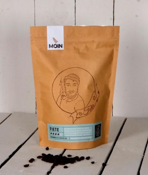 Fiete (Espresso) - Arabica aus Brasilien, Äthiopien, Kenia und Tansania, Robusta aus Indien